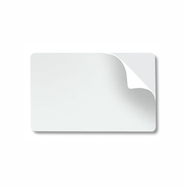 Picture of 10 mil PVC Card w/Adhesive Back