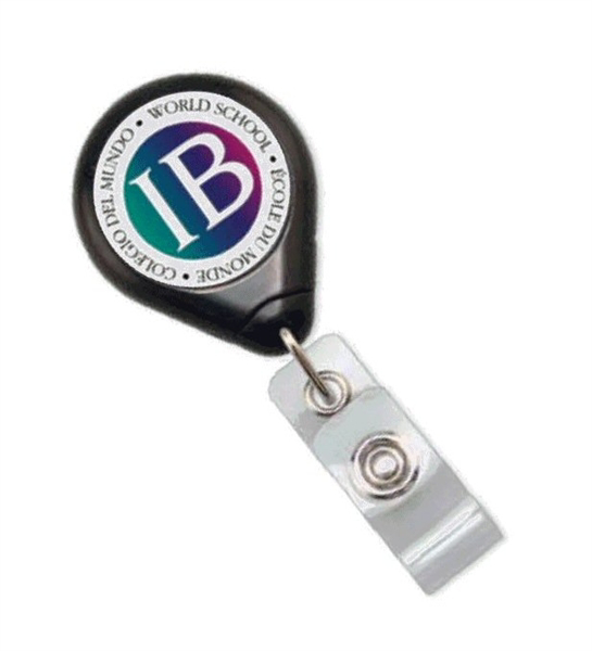 Picture of Custom Premier Twist Free Badge Reel with Vinyl Strap