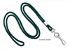 """Picture of 1/8"""" Round Cord 36"""" Lanyard - Several Colors to choose from - Available with Nickel Plated Steel or Black Oxide Metal Swivel Hook"""