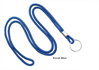 "Picture of 1/8"" Round 36"" Cord Lanyard - Several Colors to choose from - Available with Nickel Plated Steel or Black Oxide Metal Split Ring"