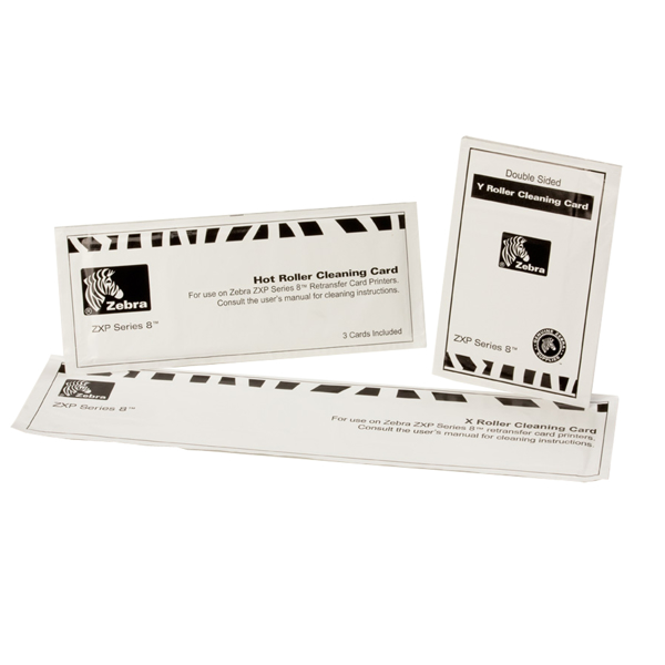 Picture of Transfer Roller Cleaning Cards  for ZXP Series 8 and Series 9 Retransfer Printer