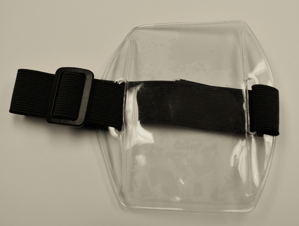 Picture of ArmBand Badge Holders - Vertical Top Load