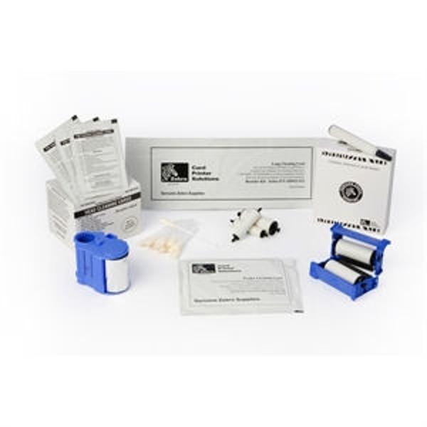 Picture of Zebra 105999-101 Cleaning Card Kit for ZXP Series 1