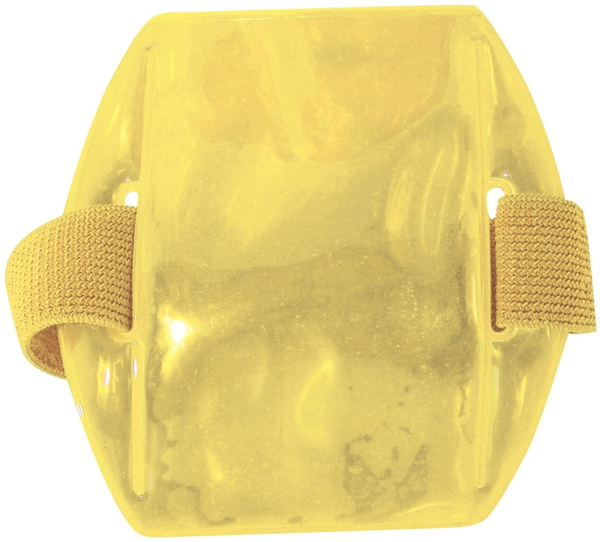 Picture of Reflective Armband Badge Holders -  Yellow